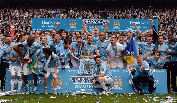 Manchester City Juara EPL