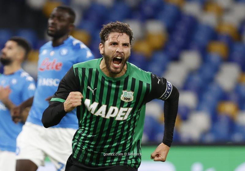 Serie A upstarts Sassuolo hand Napoli shock defeat