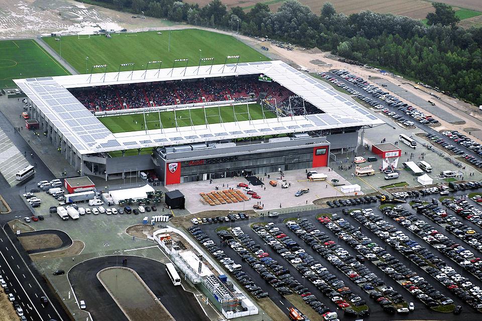Sports stadiums: Audi-Sportpark - Germany
